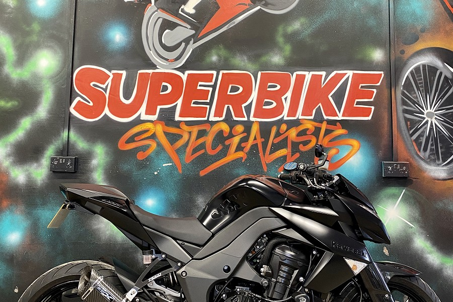 Kawasaki Z1000 2013 | Pipe Werx Exhaust | Stealth Edition